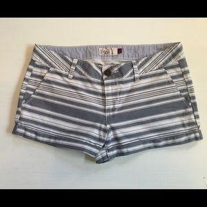 🆕 SO Navy & White Striped Shorts !